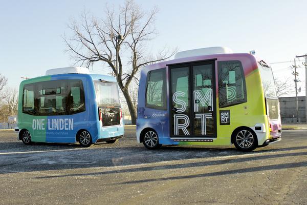 Self-Driving Shuttles in Linden
