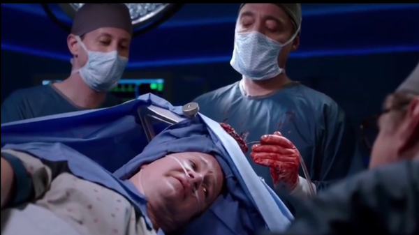 Gottfried (left) wrote himself into the script to play a surgeon on one episode of ''Chicago Med''