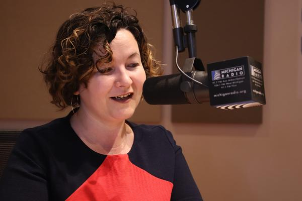 April Baer is the new host of Stateside on Michigan Radio.