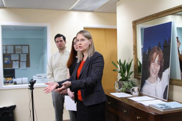 <p>Gilion Dumas is one of the attorneys representing Kim Wilson, a former Catlin Gabel student suing the school for negligence.</p>