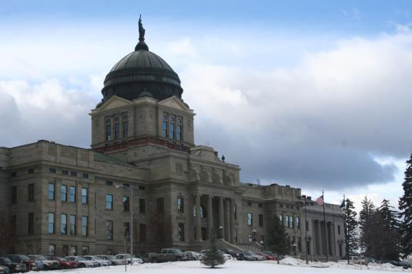Montana's State Capitol in Helena