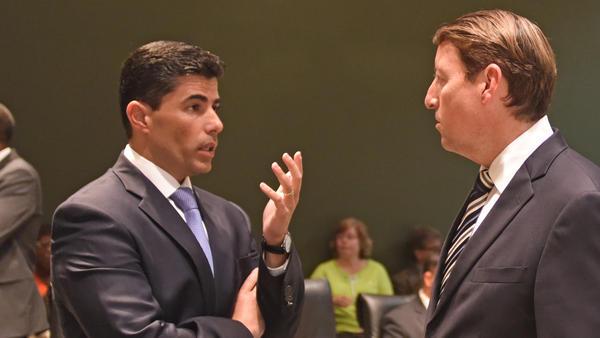 House Speaker Jose Oliva, left, and Senate President Bill Galvano. FLORIDA HOUSE OF REPRESENTATIVES