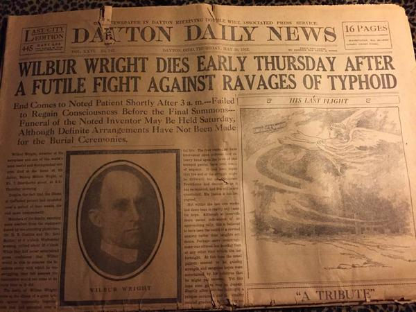 Former Ohio Governor, James M. Cox purchased the Dayton Daily News (then known as the Dayton Evening News) in 1898. The daily paper has since published on its pages the local, national, and international news that has defined past generations.