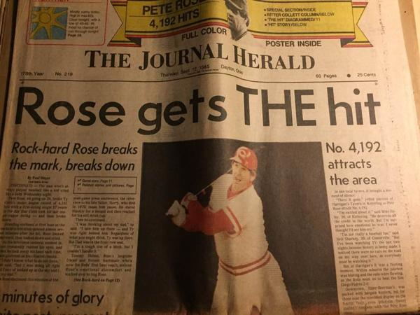 In 1948, James Cox purchased two morning papers and combined them a year later as The Journal Herald. In 1986 the paper was merged with DDN to become the Dayton Daily News and Journal Herald.