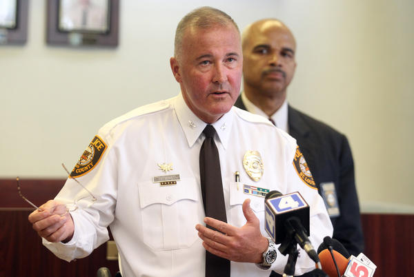 St. Louis County Police Chief Jon Belmar said the police department has transitioned to the NIBRS reporting system.