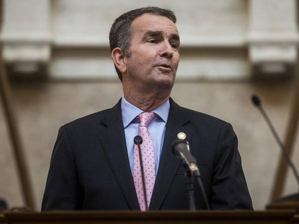 Gov. Ralph Northam said state intelligence analysts have identified threats and rhetoric online that mirror the chatter they were picking up around the time of the deadly white nationalist rally in Charlottesville in 2017.
