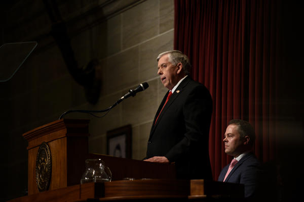 Missouri Gov. Mike Parson delivers his second State of the State address Wednesday.