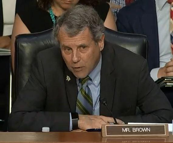 Sen. Sherrod Brown (D-Ohio) thinks Americans will lose more faith in government if the Senate trial is not conducted fairly.