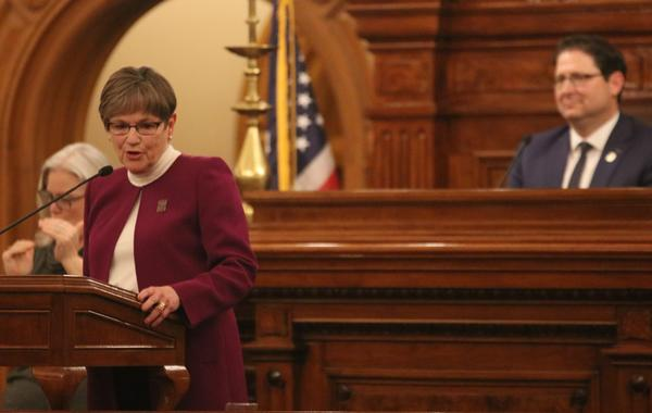 Kansas Gov. Laura Kelly gives her second State of the State address on Wednesday.