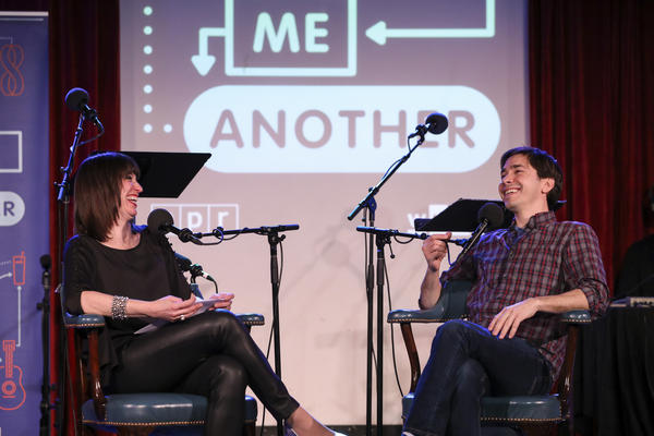 <em>Ask Me Another </em>host Ophira Eisenberg interviews Justin Long at the Bell House in Brooklyn, New York.