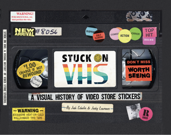 """""""Stuck on VHS"""" is the first book from Alamo Drafthouse's new publishing division."""