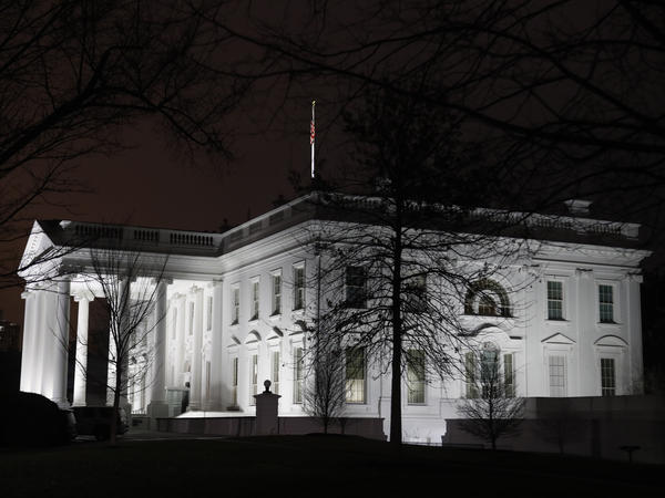 The White House in Washington, on Jan. 14, 2020.