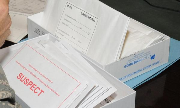 The bill would require free and timely testing of rape kits, among other things. CREDIT SGT. REBECCA LINDER / DEFENSEIMAGERY.MIL VIA WIKIMEDIA COMMONS