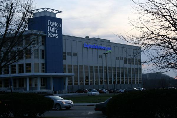 The Dayton Daily News building pictured in 2007