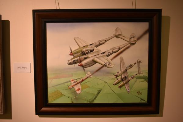 Drawing by Air Force veteran Larry Morrell