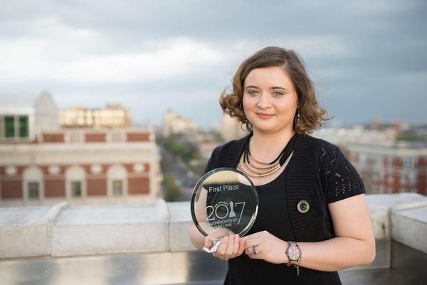 Women's Grandmaster Sabina Foisor, winner of the 2017 U.S. Women's Chess Championship.