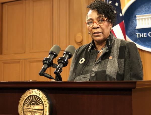 Rep. Catherine Ingram (D-Cincinnati)