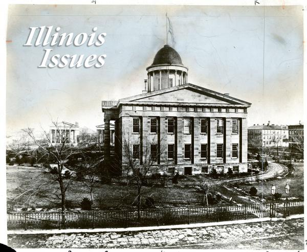 The building known today as the Old State Capitol was the seat of Illinois government in the mid-1800s.