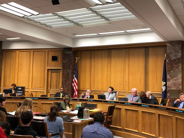 A Senate Judiciary committee debates the proposed Omnibus Premium Reduction Act of 2019