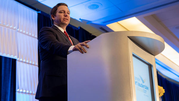 """The courtroom argument tracked closely with a tweet attributed to Gov. Ron DeSantis on Jan. 16, saying that, """"voting is a privilege that should not be taken lightly."""" GOVERNOR'S PRESS OFFICE"""