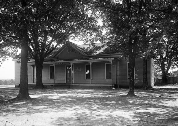 This one-room schoolhouse was built on Oberlin Road in 1882.