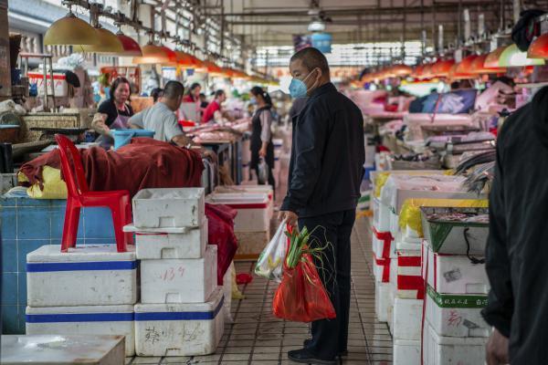 Market aisles.