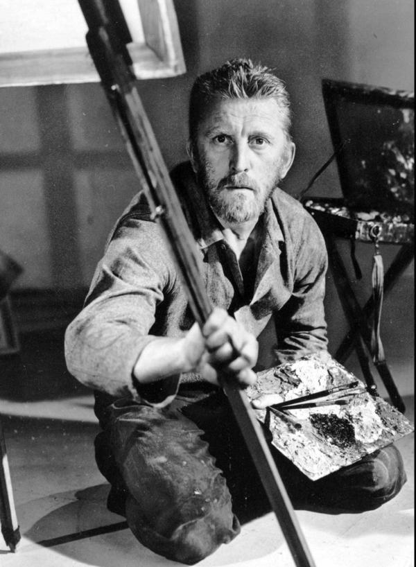 Douglas received his third Academy Award nomination for best actor for his portrayal of Vincent van Gogh in the 1956 film <em>Lust for Life</em>.