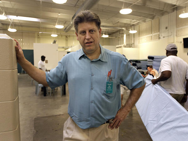 Robert Marbut has been tapped to lead the federal office on homelessness. Marbut is seen here in 2011 in a shelter in Clearwater, Fla.