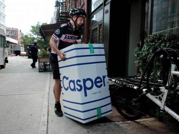"Casper changed mattress shopping with the promise of a 100-night ""risk-free"" trial and easy returns. Now the cost of those returns is being scrutinized as the online company prepares to go public."