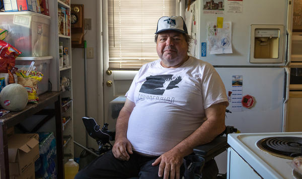 The house that John High rents with his son in Norman, Okla., doesn't even have a windowless room he could retreat to in a tornado, he says, and he can't afford to build a a wheelchair-accessible storm shelter.