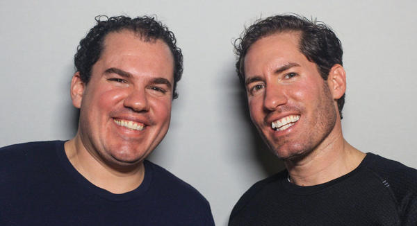 During a visit to <em>StoryCorps</em> in New York this month, brothers Raymond (left) and Derrick Storms talk about how they opened up to each other later in life and unexpectedly built a close relationship.