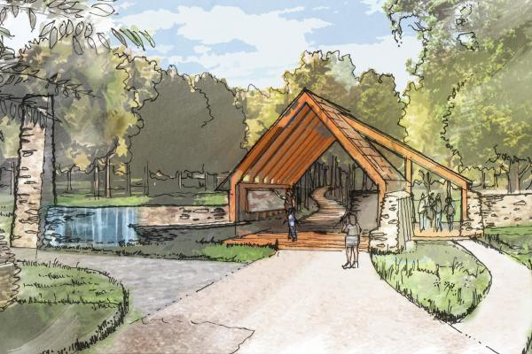 The Trailhead Pavilion will serve a dual purpose, marking both the entry and exit for the ANT. Orientation materials will be available at the start of the Trail to provide an optimum experience during every visit.