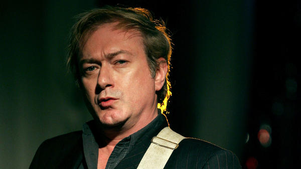 Guitarist Andy Gill of Gang Of Four, performing on Oct. 17, 2005 in Los Angeles.