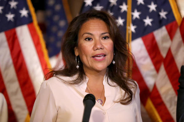 Rep. Veronica Escobar, D-Texas, will deliver the Democrats' Spanish-language response to President Trump's State of the Union address.