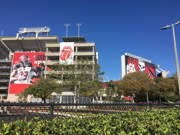 Tampa Bay is preparing for Super Bowl 55 which will be hosted February 7, 2021 at Raymond James Stadium. Credit Carl Lisciandrello
