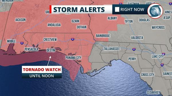 Tornado Watch until Noon