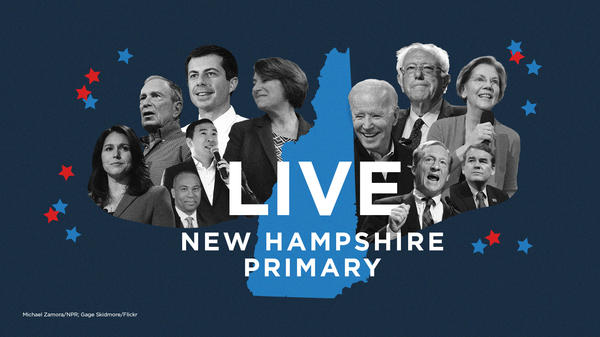 The New Hampshire 2020 primary is on Tuesday.