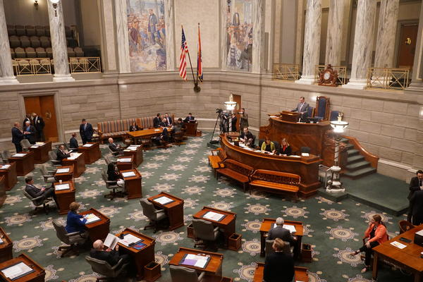 The Republican-led Missouri Senate passed a new ballot item on Monday, Feb. 10 to give voters another say in how legislative districts are drawn.