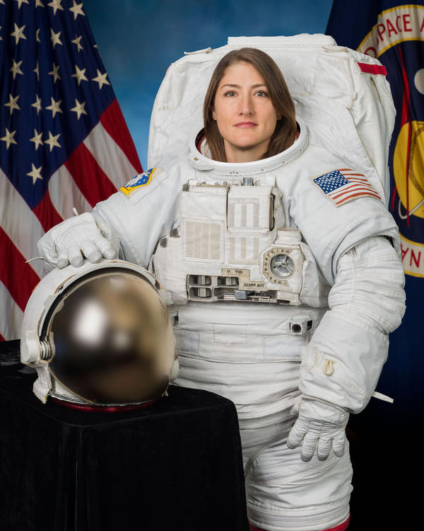 Astronaut Christina Koch returned from a 328-day mission in space on February 6, 2020.