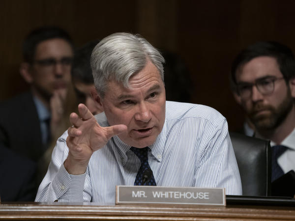 Sen. Sheldon Whitehouse, D-R.I., is among nine Democratic members of the Senate Judiciary Committee who signed a letter accusing the Trump administration of politicizing the immigration courts.