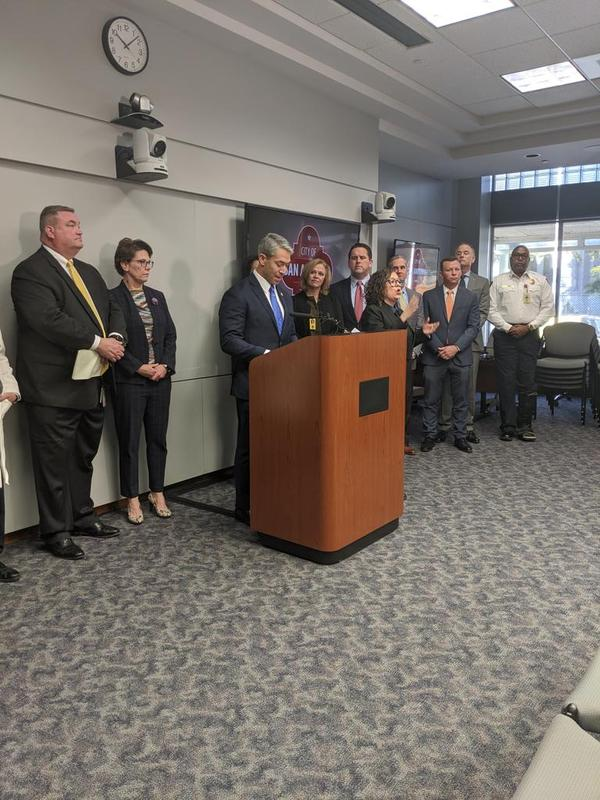 San Antonio Mayor Ron Nirenberg explained all response and isolation procedures to deal with the detected infection were followed.
