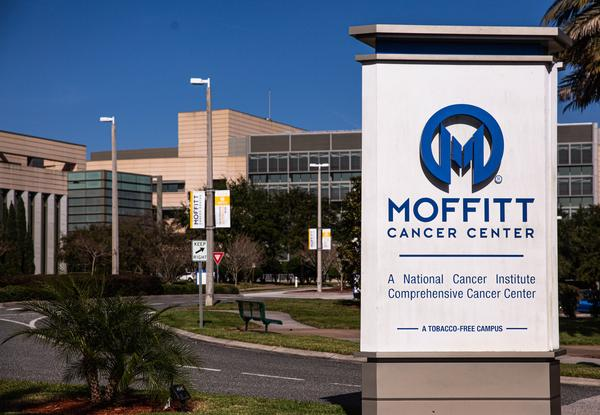 Dr. Thomas Sellers says Moffitt's own investigation showed that his signature was forged on an application to a Chinese program, according to the lawsuit. Thomas Iacobucci/WUSF Public Media