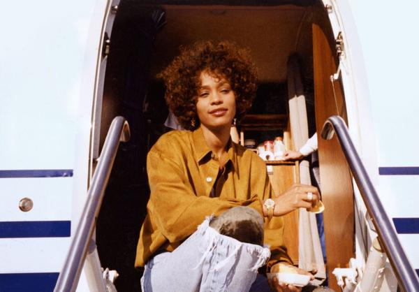 """A photo of Whitney Houston from the film """"Whitney,"""" directed by Kevin Macdonald. (Courtesy of The Estate of Whitney E. Houston)"""