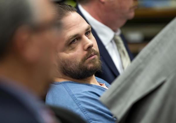<p>Day eight of the Jeremy Christian trial in Portland, February 6, 2020.</p>