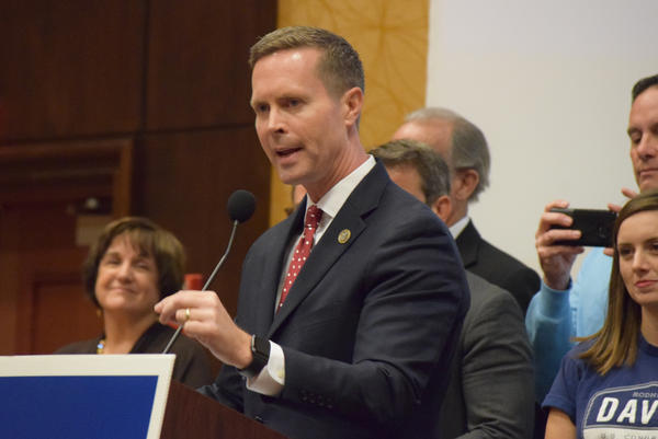 U.S. Rep. Rodney Davis represents the 13th Congressional District, which includes parts of Bloomington-Normal, Springfield, Champaign-Urbana, and Decatur.