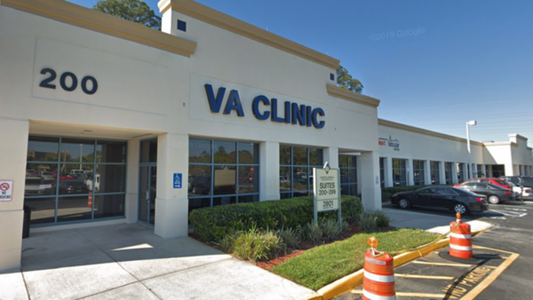 The Jacksonville VA University Clinic at 3901 Memorial Health Plaza is pictured.