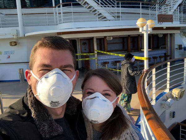 Couple Remains Under Quarantine In Texas After Honeymoon On The Diamond Princess