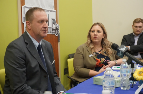 Attorney General Eric Schmitt spoke in Rolla with rural health care providers about opioid addiction