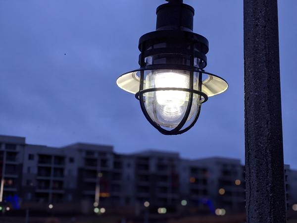 Wichita has LED bulbs, but Evergy owns the streetlights.