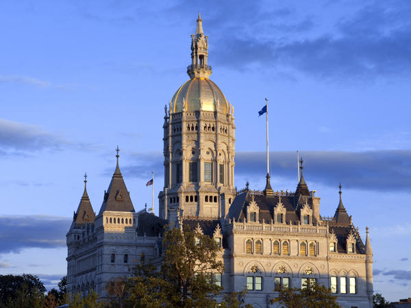 """Hartford is home to the Connecticut State Capitol and state legislature — as well as to major U.S. insurance firms. In 2019, those insurers spent what it took to defeat Connecticut's version of a """"public option"""" in health care, despite strong support among the state's lawmakers."""